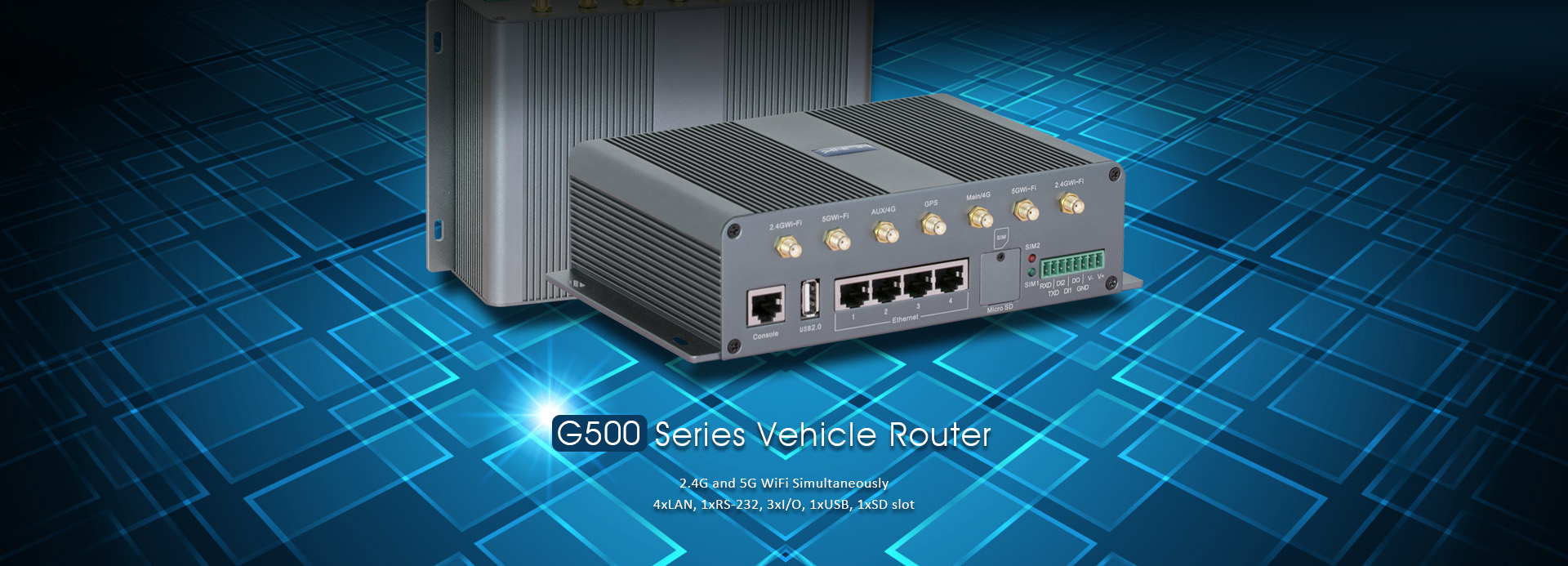 G500 Gigabit 4G Router