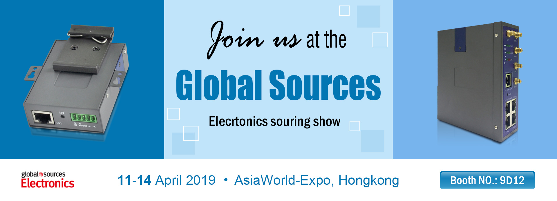 Global Sources Electronics Souring show